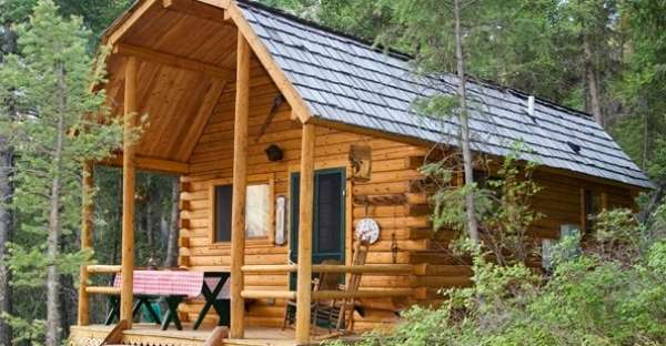 Top 10 small log cabins 8 vacation cabin for Vacation log homes